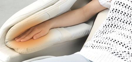 Masaje térmico para los brazos