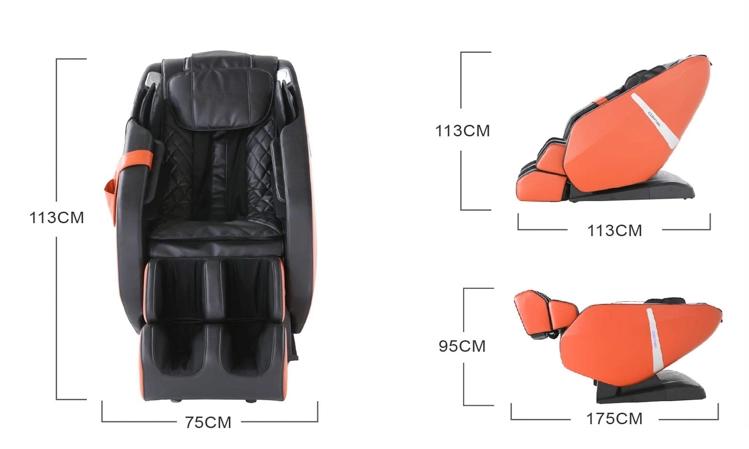 Sillón de masaje Komoder Everest - Dimensiones