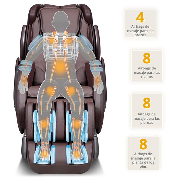Sillón de masaje Komoder KM420