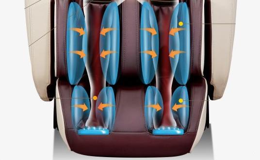 Calefacción sillón de masaje Komoder Focus