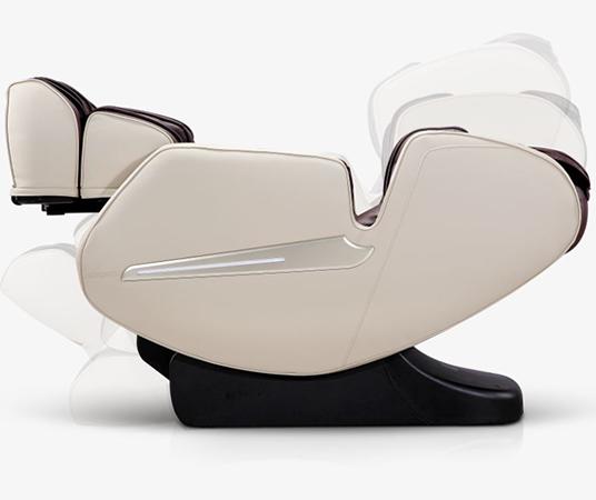 El sillón se reclina completamente y proporciona relajación Komoder Focus