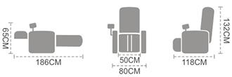 Tamanos Komoder T101-2