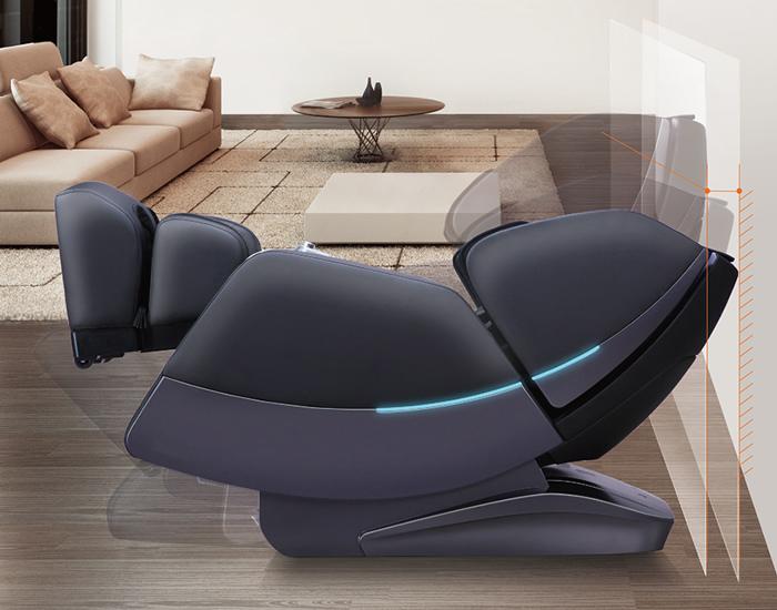 Espacio reducido para el sillón de masaje Veleta