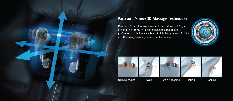 Sillón de masaje Panasonic MA70